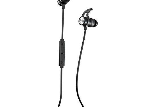 Wireless Earbuds for Running, Blackout – Phaiser BHS-730 Bluetooth Headphones Runner Headset Sport Earphones with Mic and Lifetime Sweatproof Guarantee