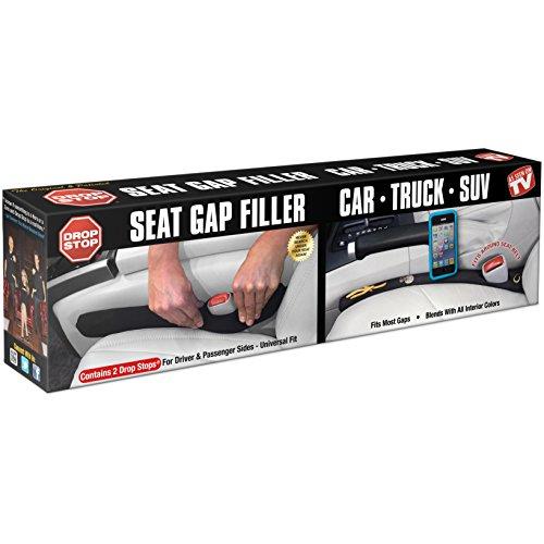 Set of 2 AS SEEN ON SHARK TANK – Drop Stop – The Original Patented Car Seat Gap Filler