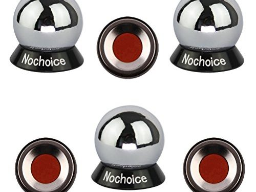 Nochoice Magnetic Car Mount Cell for Phones Big Angle Black 3 Magnets + 3 Balls