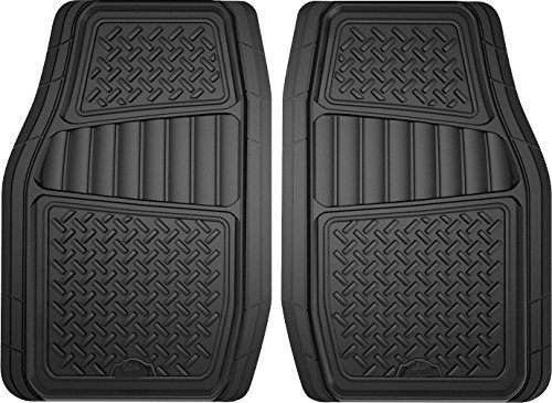 Armor All 78830 2-Piece Black All Season Truck/SUV Rubber Floor Mat