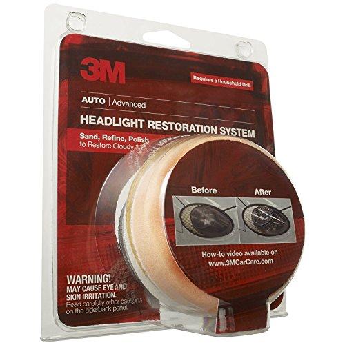 Case of 4 – 3M 39008 Headlight Lens Restoration System