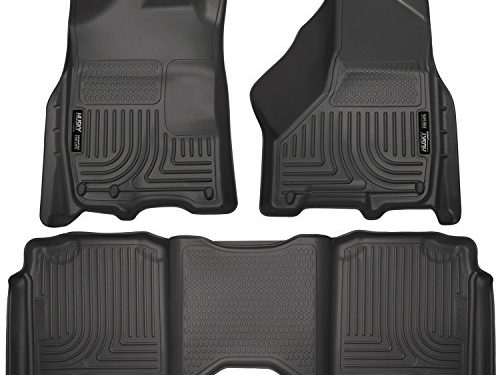 Husky Liners Front & 2nd Seat Floor Liners Fits 09-17 Ram 1500 Crew Cab