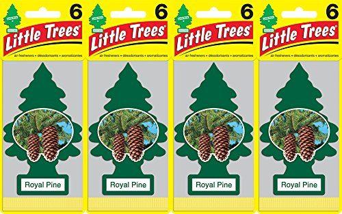Little Trees Royal Pine Air Freshener, Pack of 24