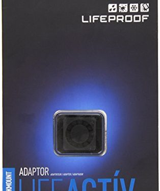 Lifeproof LifeActiv Quickmount Adapter – Black – Retail Packaging – Mount