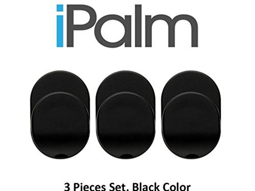 iPalm Replacement Ring Hook Mount Accessories – 3 Piece Set – Black Color For Universal Masstige Ring Grip Stand – Compatible with Kickstand, Aubaddy