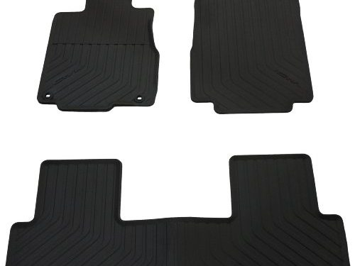 Genuine Honda Accessories 08P13-T0A-110A All Season Floor Mat for Select CR-V Models