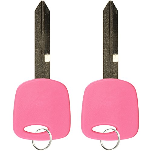 2 KeylessOption Pink Replacement 3 Button Keyless Entry