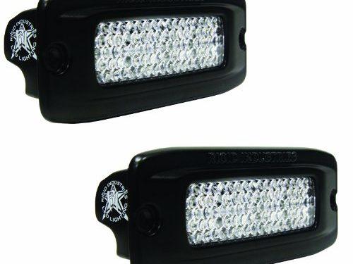 Rigid Industries 98003 SR-Q Flush Mount Diffused Back-Up Light Kit