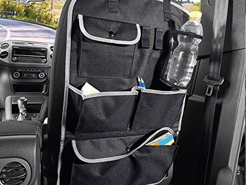 Cartman Standard Car Seat Back Organizer, Multi-Pocket Travel Storage Bag, 16.1″ x 25.6″