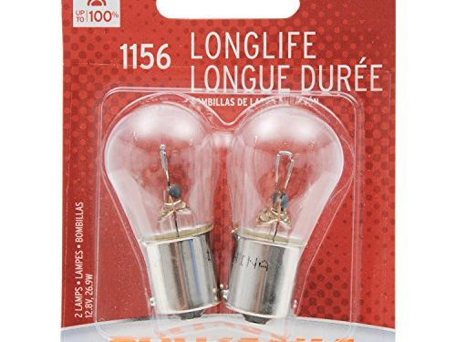 SYLVANIA 1156 Long Life Miniature Bulb, Contains 2 Bulbs
