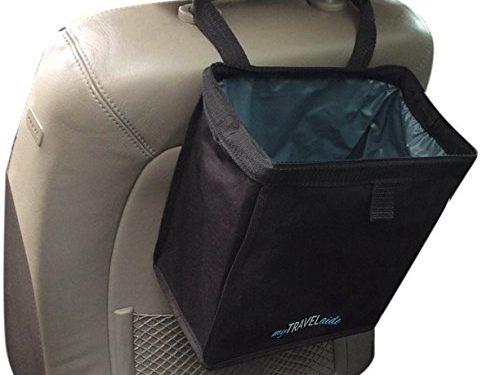 Premium, Leakproof, Hanging Garbage Bag for Vehicles – MyTravelAide Unique Car Trash Can