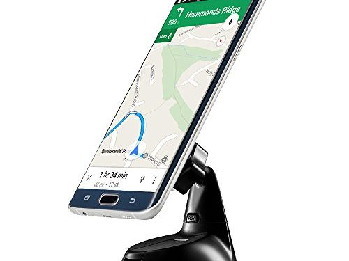 ZiLu CM011 Magnetic Phone Dashboard & Windshield Car Mount with Magnetic for iPhone 7 Plus 6s Plus SE Andorid Phones and other Smartphones-Retail Packaging …Black