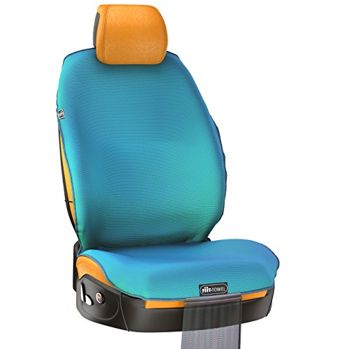 Fit Towel Car Seat Cover Microfiber Auto Protector Quick Dry Absorbent Silicon Secure Non Slip Odor Free Universal Machine Washable