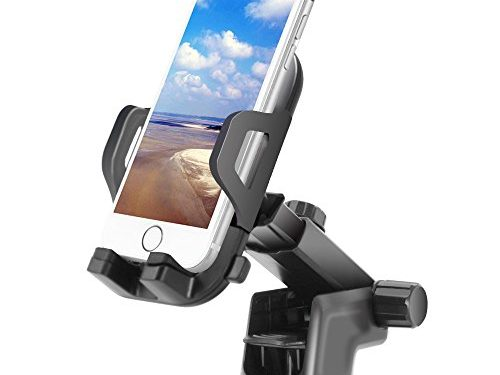 Car Mount Holder,FayTun Universal Phone Holder for iPhone 7S 6S Plus 6S 5S 5C,Samsung Galaxy S8 Edge S7 S6 Note 5,Google Pixel Pixel XL &Other Smartphone