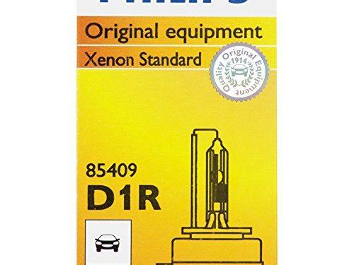 Philips D1R Standard Xenon HID Headlight Bulb, 1 Pack