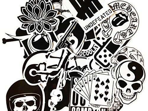 DreamerGO Cool Graffiti Stickers 45 Pieces Various Car Motorcycle Bicycle Skateboard Laptop Luggage Vinyl Sticker Graffiti Laptop Luggage Decals Bumper Stickers 45 Pieces