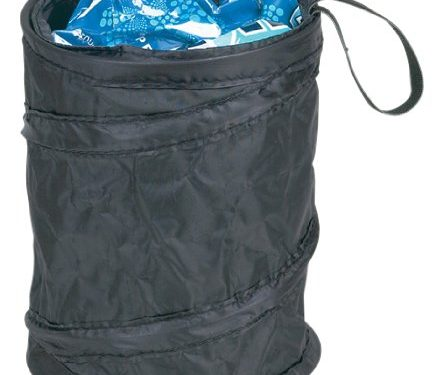 Hopkins TRASH-BLA-2PK Go Gear Pop-Up Trash Can, Pack of 2