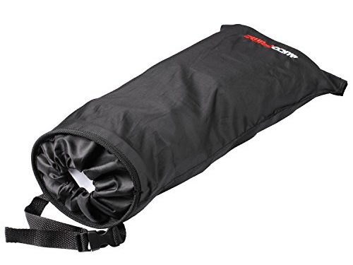 AutoPrime OverSized Trash Bag for Car and Truck Back Seat, Headrest and Shift Stick, Auto Waste Holder and Organizer Black