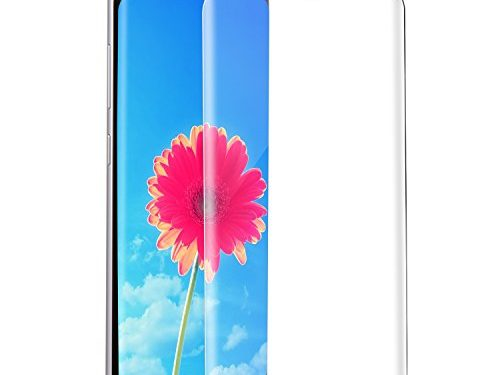 Atill Direct Samsung S8 Screen Protector, Full Coverage Tempered Glass Shatterproof Bubble- Free Film for Samsung Galaxy S8 5.8in, Transparent