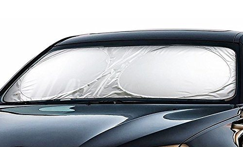Cartman Windshield Sun Shade 63″ x 34″, Cool FREE – A Powerful UV Ray Deflector, Car Sunshade To Keep Your Vehicle Cool And Damage Free