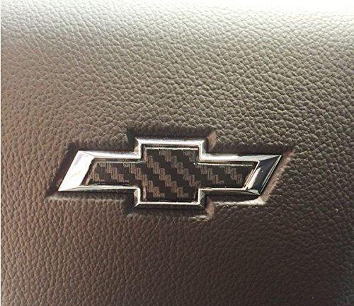 Chevrolet Silverado Steering Wheel Bowtie Overlay - Chevy silverado bowtie decal