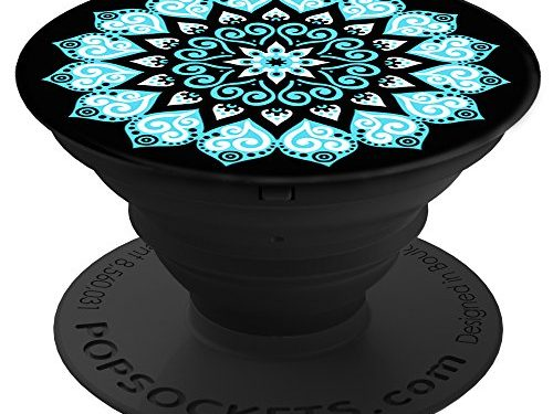 Peace Mandala Sky – PopSockets: Expanding Stand and Grip for Smartphones and Tablets