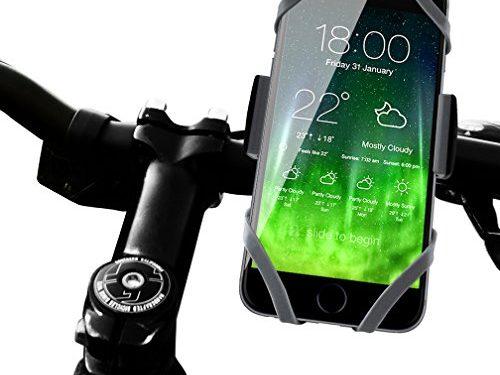 Retail Packaging – Koomus BikePro Smartphone Bike Mount Holder Cradle for iPhone 6 6 Plus 5S 5C 5 Samsung Galaxy and all Smartphones – Black