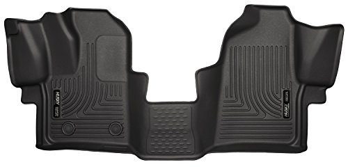 Husky Liners Front Floor Liners Fits 15-16 Transit-150/250/350