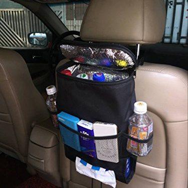 Car Seat Back Organizer, Multi-Pocket Travel Storage Bag Picnic bag Heat-Preservation