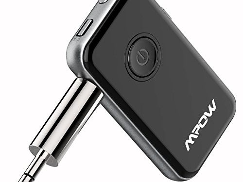 Mpow Bluetooth 4.1 Transmitter/Receiver, 2-in-1 Wireless Audio Adapter for Headphone, Speaker,etc
