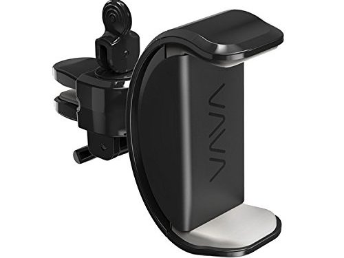 VAVA Phone Holder for Car, Car Phone Mount for Air Vent with Cable Hooks, 360° Rotatable Joint – Fits iPhone 5 / 6 / 6S / 7 / 7 Plus, Galaxy, Pixel / Pixel XL, and More Smartphones