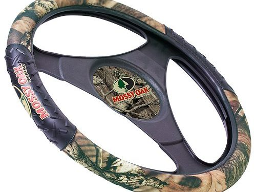 Mossy Oak Two-Grip Steering Wheel Cover