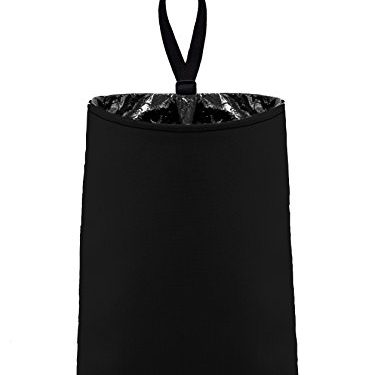 litter bag/garbage can for your car – Auto Trash Black by The Mod Mobile