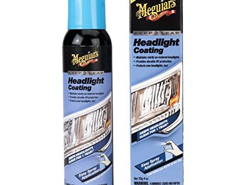 Meguiar's G17804 Keep Clear Headlight Coating, 4 oz.