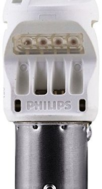 Philips 1156 Intense Red Vision LED Stop/Tail light, 2 Pack