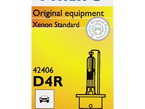 Philips D4R Standard Xenon HID Headlight Bulb, 1 Pack