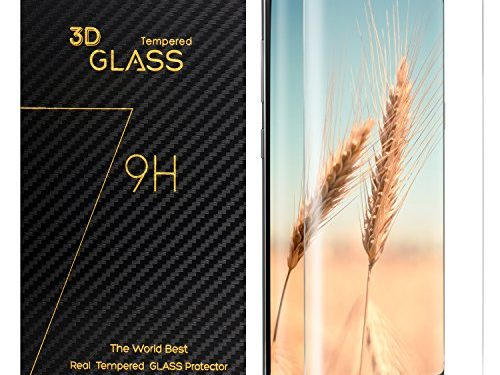 Amoner Samsung Galaxy S8 Screen Protector, Whole Tempered Glass, 3D Curved, Full Coverage, HD Clear for Samsung Galaxy S8, Transparent
