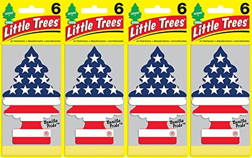 Little Trees Vanilla Pride Air Freshener, Pack of 24