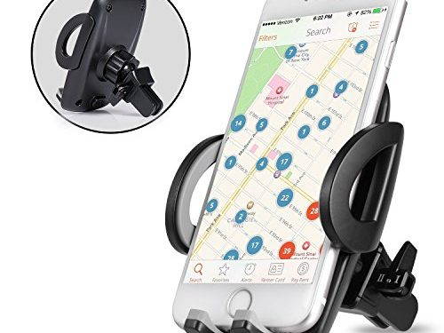 Bestfy Universal Air Vent Car Mount Holder for iPhone 7 Plus, 7, 6S, 6S Plus,iPhone 6, 6 Plus, 5S, Samsung S8, S7/S6 Edge Plus, LG, HTC and Other Smartphones