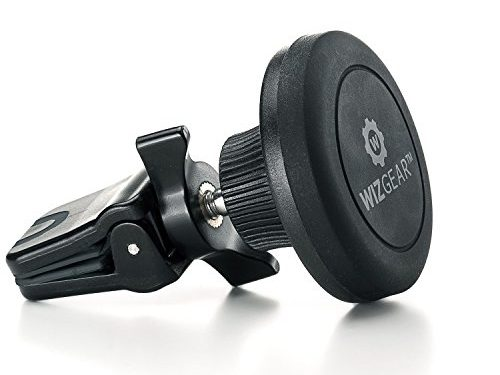 Magnetic Mount, WizGear Universal Twist-lock Air vent Magnetic Car Mount Holder, for Cell Phones and Mini Tablets with Fast Swift-snap Technology Twist Lock