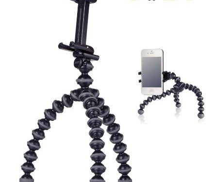 JOBY GripTight GorillaPod Stand- Flexible Universal Smartphone Stand for Small Smartphones.