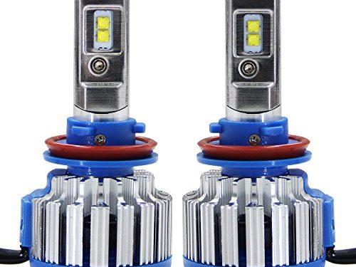 Win Power H11H8 H9 LED Headlight CREE Bulbs Conversion Kits + Canbus 1 Pair-2 Year Warranty