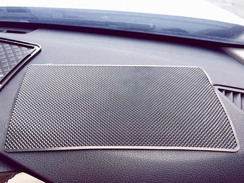 Black – Extra Large 26 x 15cm Magic Anti-Slip Non-Slip Mat Car Dashboard Sticky Pad Adhesive Mat for Cell Phone, CD, Electronic Devices, iPhone, iPod, MP3, MP4, GPS