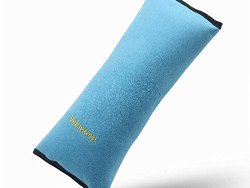 Valuetom Seatbelt Headrest Pillow Cover Shoulder Pad Comfy Support Car Pillow for Kids Blue