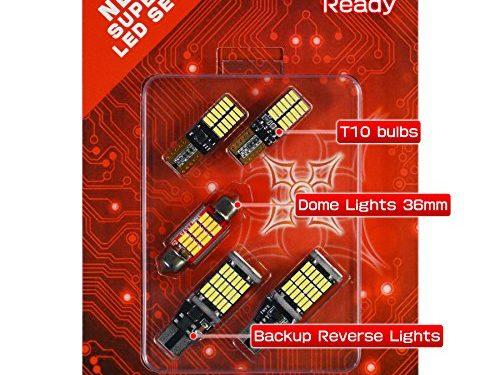 HIKARI Automotive Lighting Bulb SetBackup light Interior 1.5'' 36MM Festoon Dome Map Door Courtesy License Plate Lights