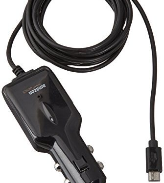 5 Feet 1.5 Meters – AmazonBasics Micro USB Universal Car Charger for Android