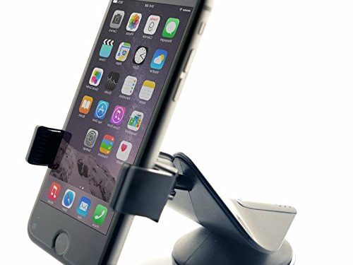 Zilu CM001 Universal Car Phone Mount, Cell Phone Holder, Car Accessories For IPhone Samsung Galaxy Note and More -Black