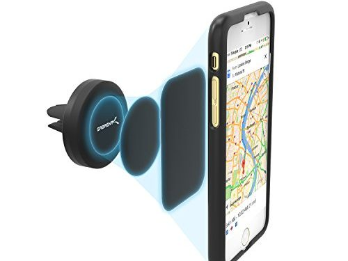 Sabrent Air Vent Magnetic Universal Car Mount Holder for most Smartphones devices CM-MGHB