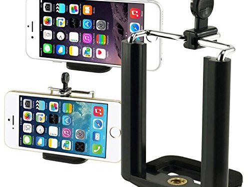 Insten Camera Stand Clip Bracket Holder Monopod Tripod Mount Adapter For Cell phone For iPhone 7/ 7 Plus/ 6S/ 6S Plus, Galaxy S7 Edge/ S7 / S8 / S8+ S8 Plus, LG G6