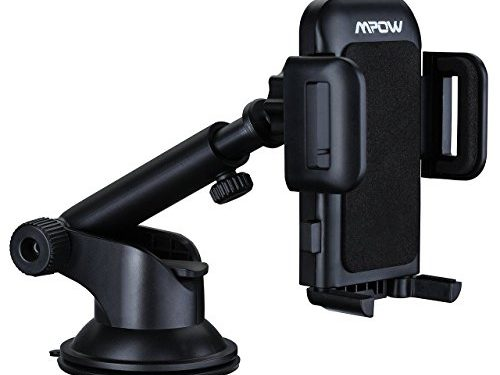 Mpow Car Phone Holder, Dashboard Cell Phone Car Phone Mount with Strong Sticky Gel Pad for iPhone 7 6s 6 Plus 5S, Google Nexus, LG, HTC, Huawei, etc
